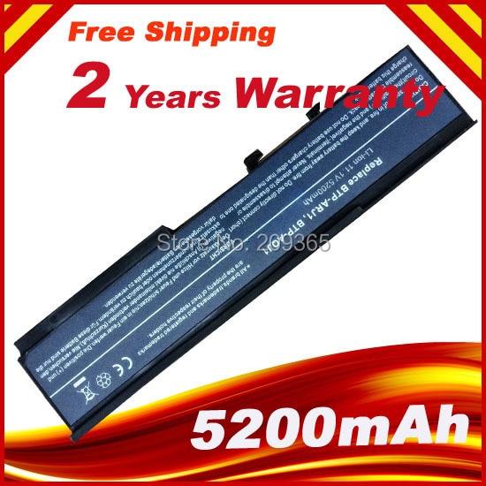 5200mAh Laptop Battery for ACER TravelMate 6231 6252 6291 6292 6293 6452 6492 6493 6593G 4330 4530 4730 6230 BTP-AQJ1 BTP-ARJ1