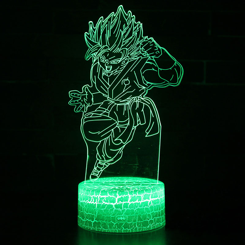 <font><b>Dragon</b></font> <font><b>ball</b></font> legend Sun Wukong theme 3D <font><b>Lamp</b></font> LED night light 7 Color Change Touch Mood <font><b>Lamp</b></font> Christmas present Dropshippping image