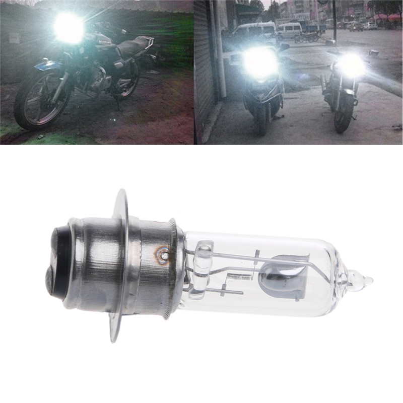 P15D-25-1 DC 12V 35W белая галогенная фара лампа для мотоцикла электромобиль