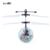 Mini led parpadeante luz de inducción bola de fly toys control remoto rc helicóptero quadcopter drone niños juguete