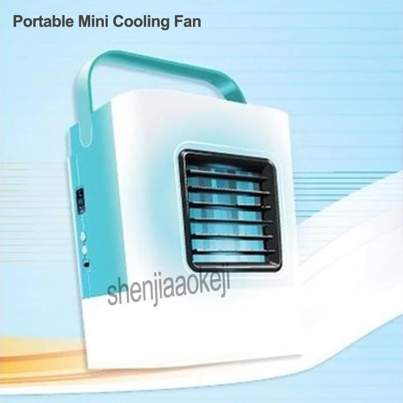 Ventilateur de refroidissement domestique Mini climatiseur Portable Mini machine de refroidissement Miniature ventilateur de climatisation avec USB 1 pc