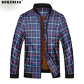 2016 Men's Lightweight Jacket Fashion Casual Plus King Size Mandarin Collar Purple Red Regular Overcoats TC514