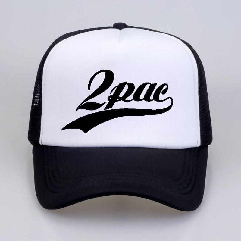 2Pac Makaveli Tupac Shakur   Baseball     Caps   Rapper 2Pac Hiphop Summer Cool   Cap   Thug Life   Baseball   Mesh   Caps   Hat For Men Women
