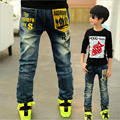 Kids Trousers Boys Jeans For Children Slim Casual Pants Casual 2017 New Arrival Boy Harem Jeans NZK0022