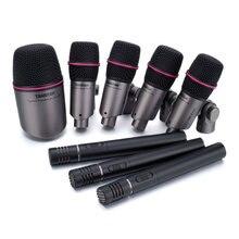 TAKSTAR DMS-DH8P барабанный микрофон профессиональный конденсаторный микрофон для записи/микрофон