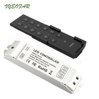 Ltech LED RGB RGBW Strip Controller 4 Zone 2.4G RF Remote CV CC Receiver 4 channel output Control LED Strip Panel Spot Light