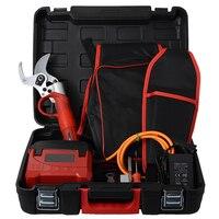 Электрический секатор 0 45 мм DJ 045 с литиевой батареей Электрический секатор ножницы 36 В 25000об/мин высокая скорость садовый секатор