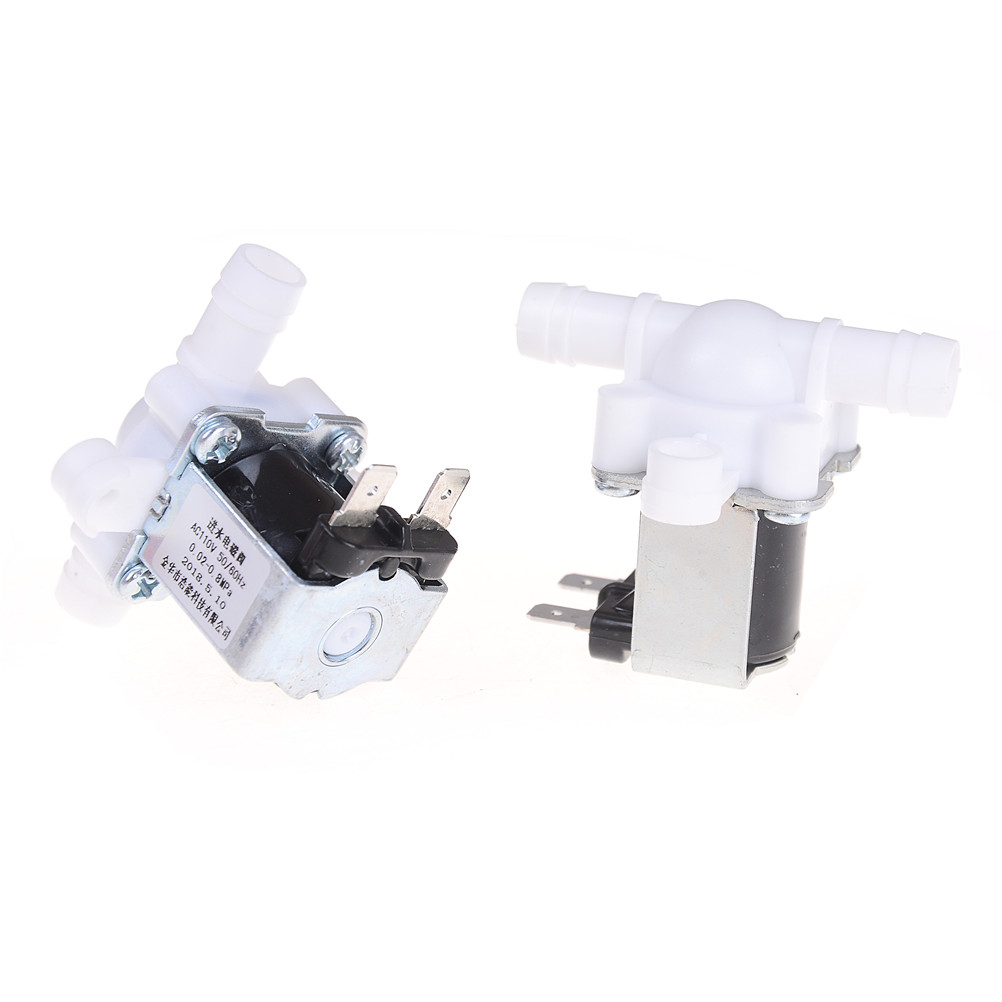 12/24/36/220V Pressurized Solenoid Valve Inlet Valve 10mm For Water Dispenser Water Purifier Plastic Water Valve