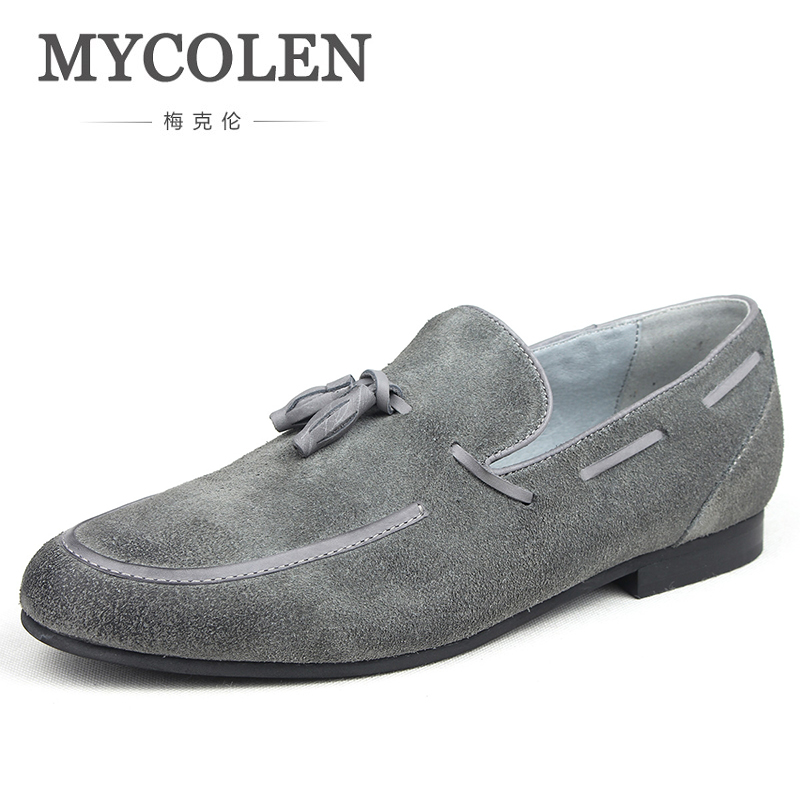 fda6463f4aaafa MYCOLEN 2018 Mens Loafer Shoes New Fashion Genuine Leather Summer Casual  Slip On Loafers Designer Luxury Driving Moccasins - aliexpress.com -  imall.com