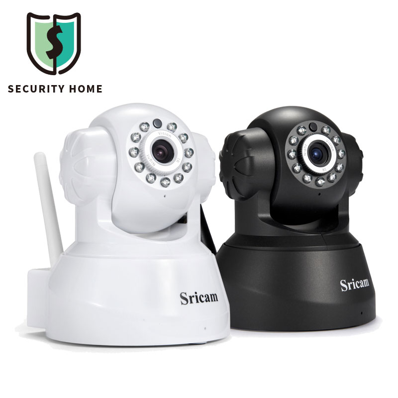 все цены на Sricam SP012 HD Home Security IP Camera Wifi Wireless Night Vision CCTV Surveillance Camera With TF Slot Two-way Voice онлайн