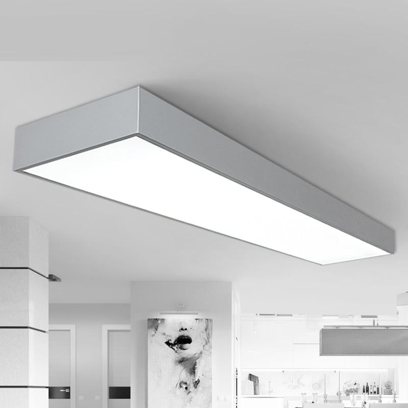 Us 125 0 Office Ceiling Lights Led Black White Lighting Market Room Studio Lamps Bg9 In From
