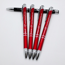 Companies,club,schools,Banks,Black metal gift ballpoint pen custom logo writing smooth Good quality sign