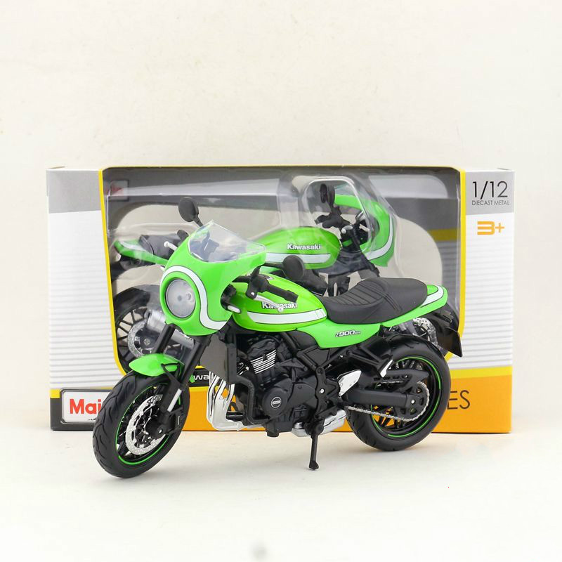 Maito 1/12 Scale Motorbike Model Toys KAWASAKI Z900 RS Cafe Street Motorcycle Diecast Metal Toy For Gift,Kids,Collection