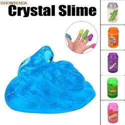 Canettes Flash poudre clair Slime parfumé soulagement du Stress jouet boue jouets argile jouet cadeau Slime pâte à modeler jouets enfant enfants enfant