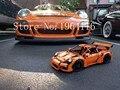 Новый лепин 20001 Создатель серии 911 GT3RS модель автомобиля Строительные Блоки совместимы оригинальные 42056 Техника автомобиль игрушки для детей