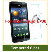 0 3mm 9H tempered glass For Acer Liquid E700 screen protector protective guard film front case