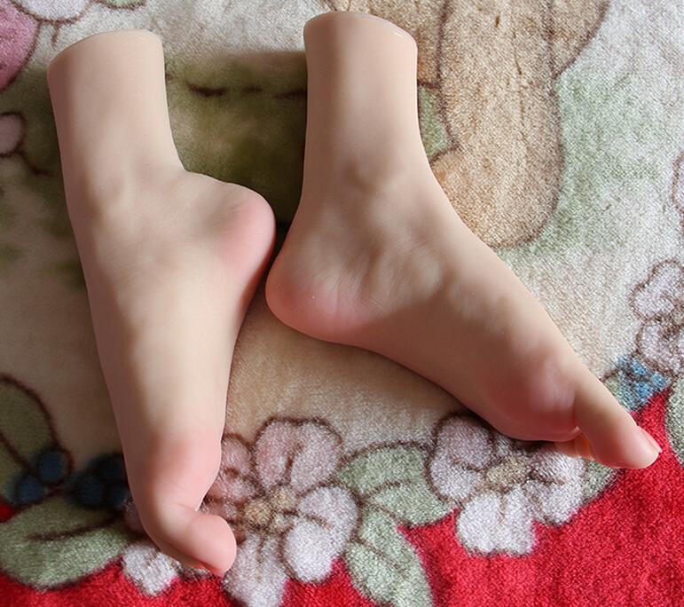 sexy silicone Little feet mold Foot Fetish Foot worship foot font b sex b font toys