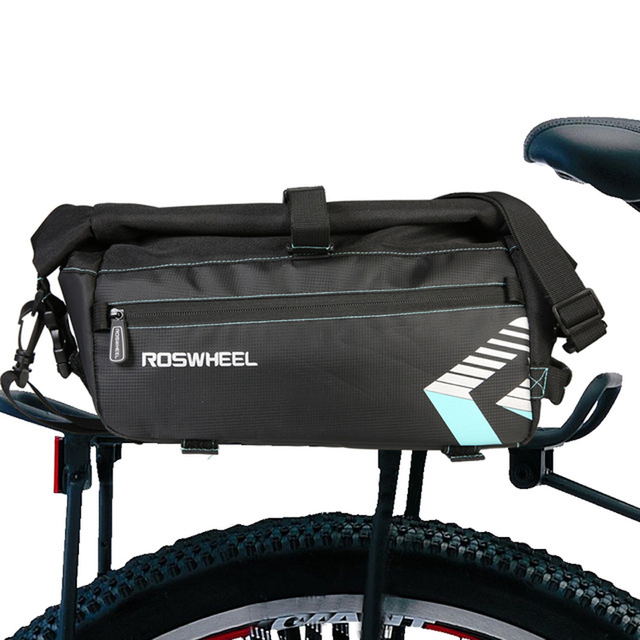 2018 Waterproof Bike Bag For Bicycle Accessories Saddle Rack Mountain Cycling Seat Rear