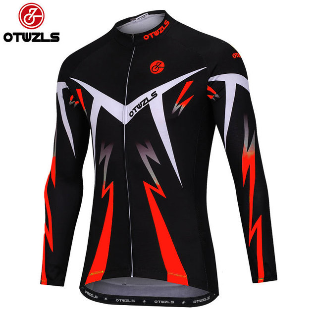 9a8595e4c cycling jersey 2018 men New Style long sleeve cycling clothing pro team MTB  bike jersey Mountain Road Bicycle clothes OTWZLS