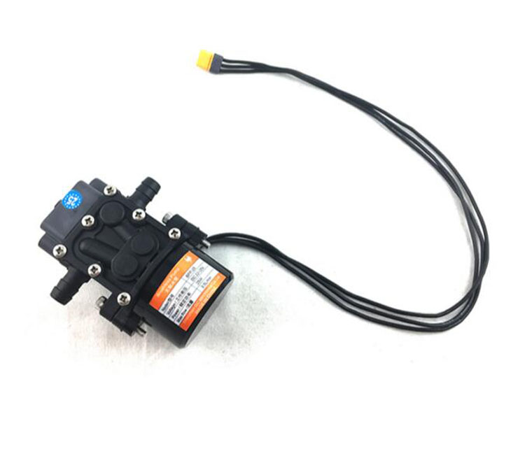 Yuenhoang Agriculture drone Mini Brushless Water Pump Miniature pressure diaphragm pump With Amass MR30 plug 22-25V 3.5L/Min pastoralism and agriculture pennar basin india