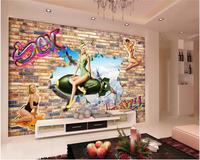 3d 벽지 사용자 정의 벽화
