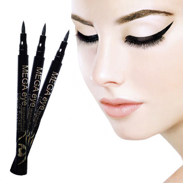 silky cool black eyeliner pen dynamic fast-drying liquid eyeliner
