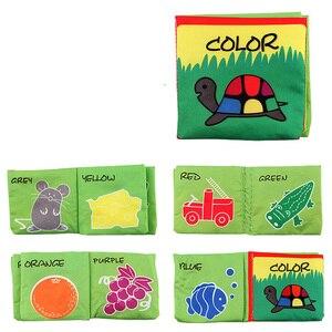 Image 4 - Bebek oyuncakları bilgi bebek bezi kitap etrafında çoklu dokunmatik çok fonksiyonlu eğlence ve çift renkli yenidoğan yatak tampon 0 12 ay