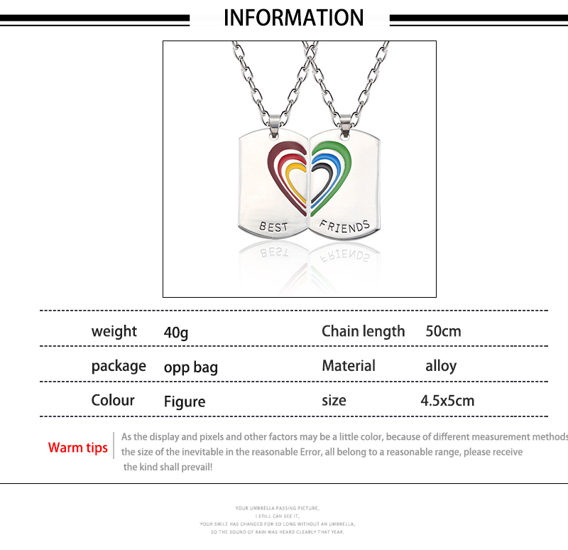 HTB1zrYMXiYrK1Rjy0Fdq6ACvVXaW - Best Friend Necklace Women Crystal Heart Tai Chi Crown Best Friends Forever Necklaces Pendants Friendship BFF Jewelry Collier