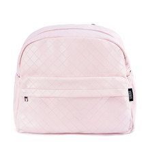 Soboba Plaid Pink Diaper Bag for Mommies Backpack