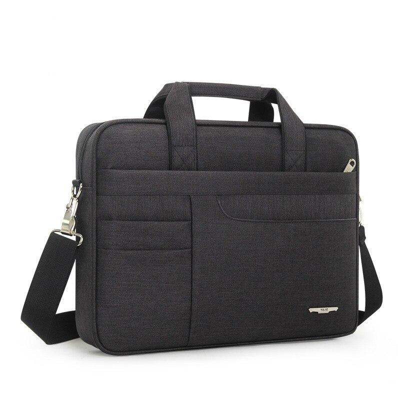 2019 Business Stil Einfache Aktentasche Männer Computer Tasche Oxford 14 15 Zoll Laptop Tasche Für Frauen Schulter Tasche Messenger Bolso Hombre ZuverläSsige Leistung
