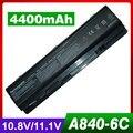 4400 мАч аккумулятор для ноутбука dell Vostro 1014 1015 A840 A860 312-0818 451-10673 F286H F287F F287H G069H R988H
