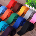 2015 Mens Corbata Casual Moda de Nueva Marca Oficial Del Partido de Tarde de La Boda Gravata Corbatas Delgadas para Hombre flaco Corbata de Punto 19501