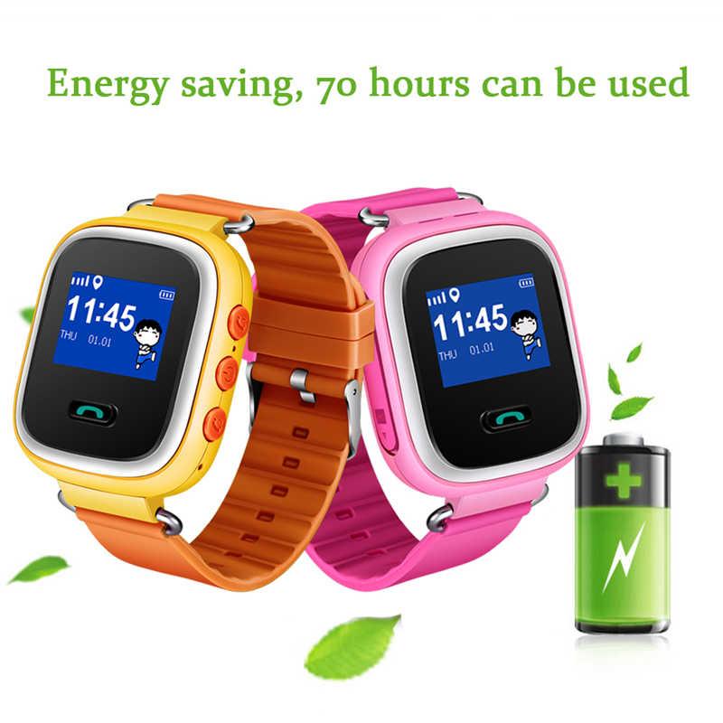 חכם שעון ילדים ליגע החדש ילד אנטי אבוד חכם שעון APP קישור נייד SOS שיחת LBS Tracker ילדי אינטליגנטי צמיד + תיבה