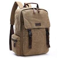 Men Canvas Backpacks Schoolbags for Girls Boys Teenagers Casual Travel backpack Laptop Bags female Rucksack mochila