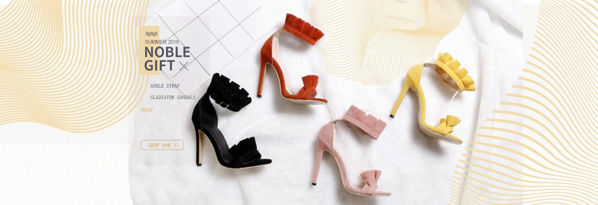 Lasyarrow Plus Size 33-43 Women Gladiator Roman Sandals Open Toe Knee High  Cut Outs Sandals Boots High Heels Summer Shoes RM562 83828d7d51eb