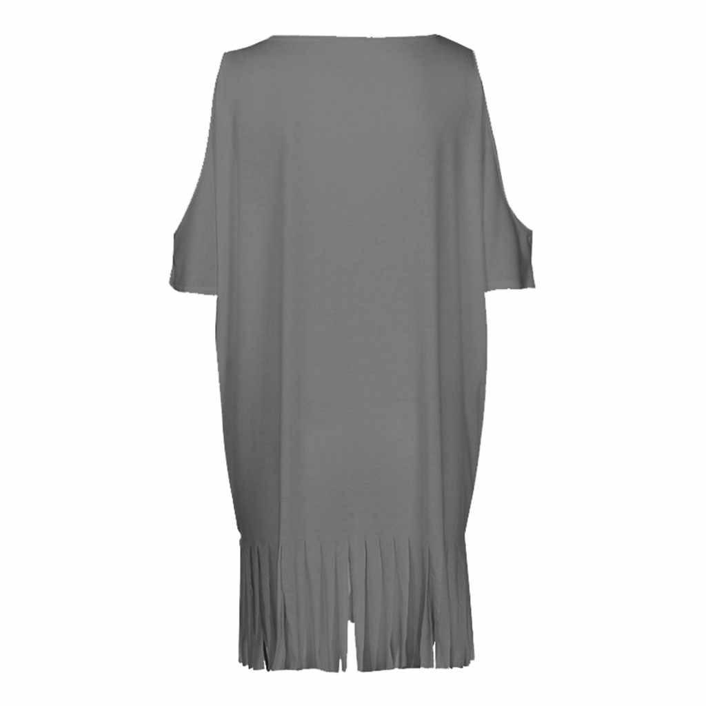 Пляжное платье летние женские богемные платья больших размеров с v-образным вырезом и кисточками с буквенным принтом просторная пляжная одежда бикини пляжное платье Y722