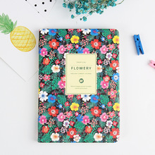 Classic New Arrival Cute PU Leather Floral Flower Schedule Book Diary Planner Office School Supplies Birthday Gift недорого