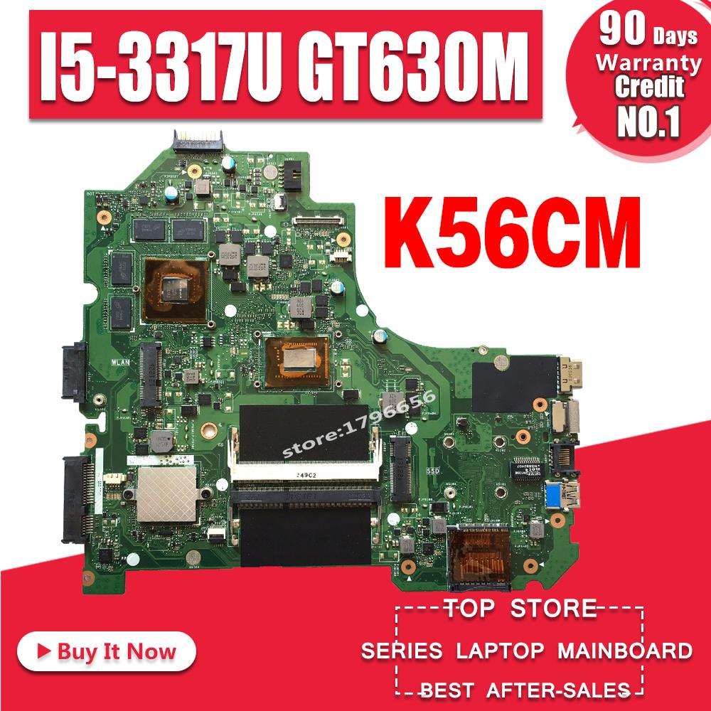 K56CM For ASUS K56CB K56CM A56C S550CM Laptop Motherboard I5 GT635M 2GB Mainboard Test K56CM Mainboard