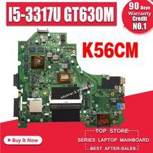 K56CM dla For Asus K56CB K56CM A56C S550CM płyta główna płyta główna laptopa i5 GT635M 2GB płyta główna Test K56CM płyty głównej płyta główna