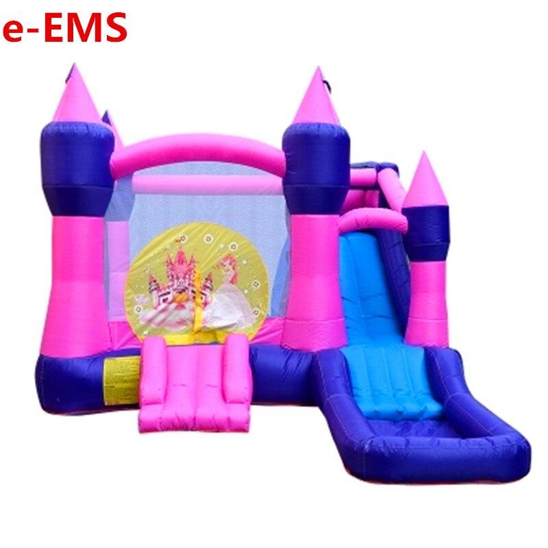 Château gonflable princesse Trampoline enfants vilain Fort aire de jeux toboggan parc d'attractions jouet équipement G2006