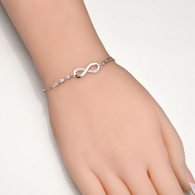 Bracelet Shamballa Argent