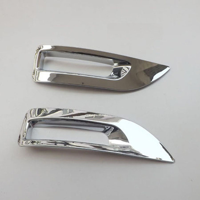 Free shipping Rear Tail Fog Light Lamp Cover Trim ABS Chrome For Nissan 2012 Sylphy/Sentra 2013