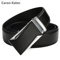 HOT Sale Fashion Men Belt 2017 Luxury Automatic Buckle Belts Cowhide Genuine Leather Belts For Men