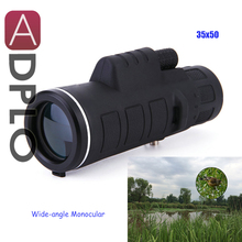 Best price 35×50 High-powered Wide-angle Monocular, Night Vision Telescopes, Suit for Outdoor. Camping, Mountaineering, Travel, Backpacking