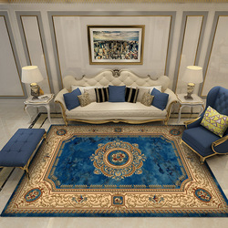 European Classical Persian Art Carpet For Living Room Bedroom Anti-Slip Floor Mat Fashion Kitchen Carpet Area Rugs