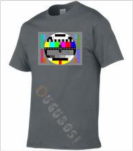 Camiseta tv sem sinal vintage 70 80 por isso minha felicidade