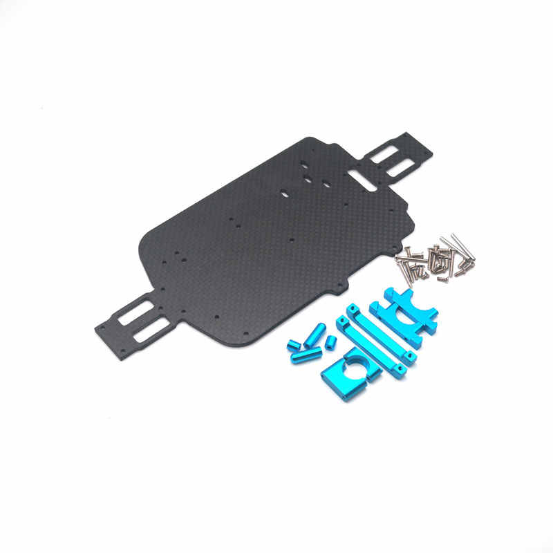 Upgrade Koolstofvezel Chassis Onderdelen Voor WLtoys A959 A979 A959B A979B RC Auto Vervanging