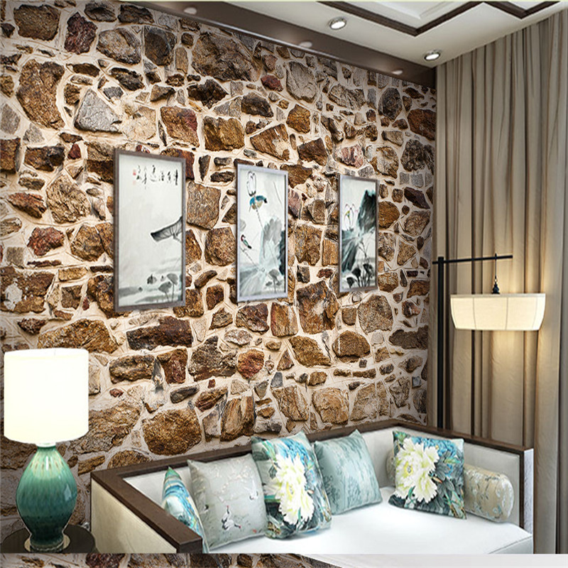 Custom Photo Wallpapers 3D Brick Stone Wall Papers Murals for Living Room Bedroom Background Home Decor Russtic Walls Covering custom photo wallpapers for walls 3d modern non woven wall papers mural for bedroom living room home decor flowers oil painting