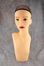 20 см пластиковые ПВХ манекен голова пенополистирол парик/ожерелье/Cap/Hat/парик дисплей pyjg