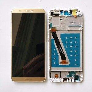 Image 3 - 100% testé nouveau 5.6 pouces pour Huawei P Smart FIG LX1/FIG L21 plein écran LCD + écran tactile numériseur assemblée avec cadre